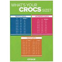 CROCS CROCBAND WHITE BLUE JEAN