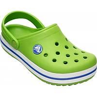 Crocs Crocband volt green varsity blue