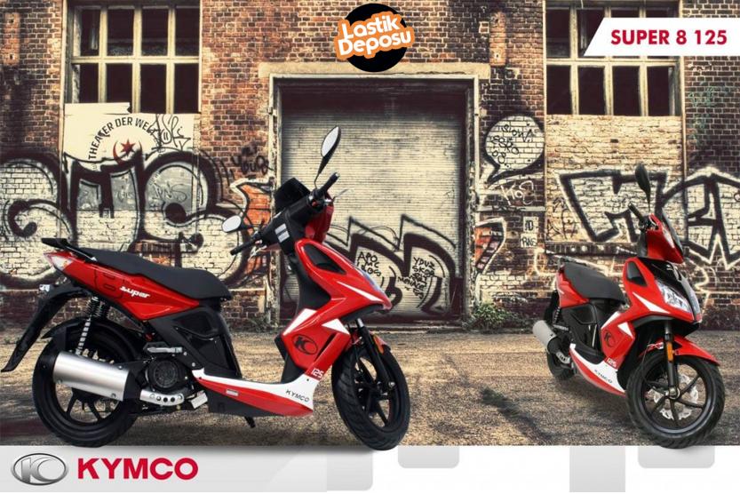 Kymco Super 8 125 Motosiklet Lastikleri