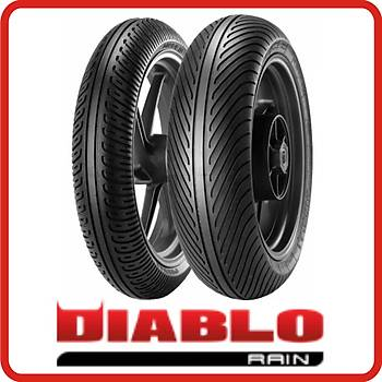 Pirelli 125/70-17  NHS TL SCR1 Diablo Rain ÖN Motor Lastiði(2012)