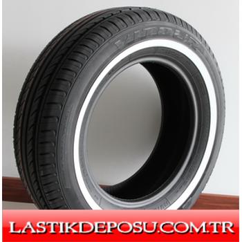 Vitour 155R12C (5.00 R 12LT -10PR) V900 WSW Beyaz Yanaklı Lastik