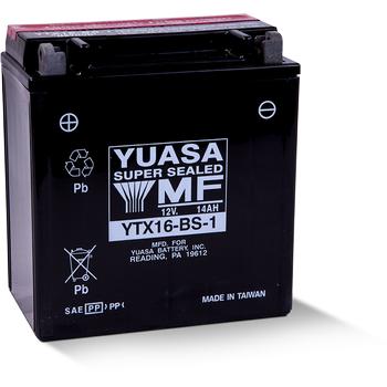 Yuasa YTX16-BS-1 12V14 AH Bakýmsýz Motosiklet ve ATV Aküsü