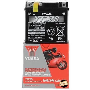Honda PCX 125-150 Akü Yuasa YTZ7S 12V6AH Bakýmsýz Jel