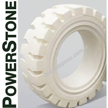 Powerstone 140/55-9 Beyaz Dolgu Segmanlý Forklif Lastiði