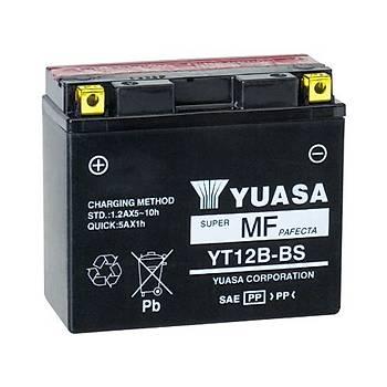Yuasa YT12B-BS 12V10 AH Bakýmsýz Motosiklet ve ATV Aküsü