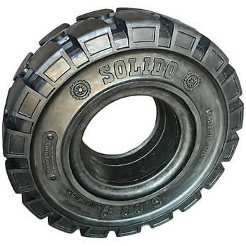 SOLIDO 15x4.50-8 Siyah Dolgu Forklift Lastiði Segmanlý