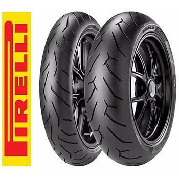 Pirelli Takým 120/60R17 150/60R17 Diablo Rosso II Motosiklet Lastiði