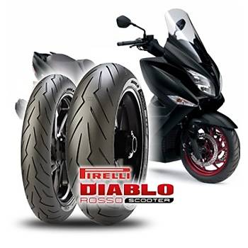 Pirelli 120/70R16 Diablo Rosso Scooter 57H Ön Lastik