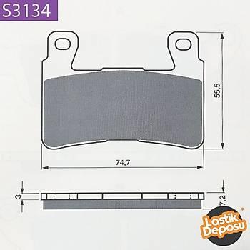 HYOSUNG GD 250 Ön Fren Balatasý Goldfren S3-134
