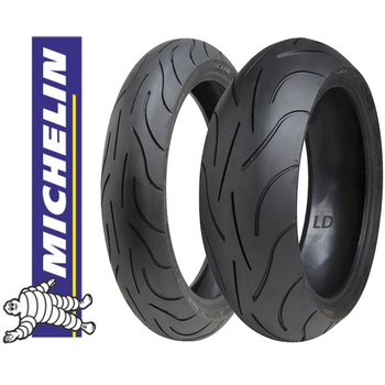 Michelin Takým 120/70ZR17 ve 160/60ZR17 Pilot Power Ön Arka Set