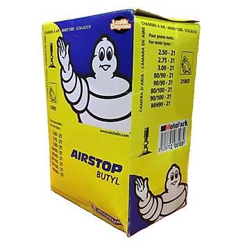 Michelin Airstop 21MD 2.50-21 Ýç Lastik Innner Tube Valve