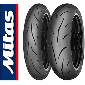 Mitas Takým Yamaha MT07 Sport Force Plus 120/70ZR17 ve 180/55ZR17 Set