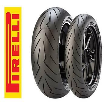 Pirelli Takým 120/70ZR17 ve 180/60ZR17 Diablo Rosso 3 Ön Arka Set
