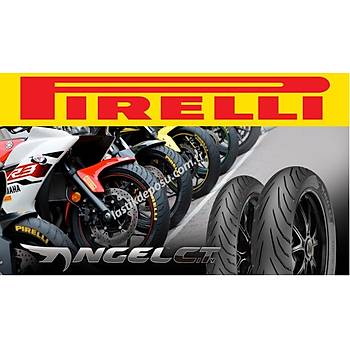 Pirelli 90/80-17 46S TL Angel City Front Motosiklet Lastiði