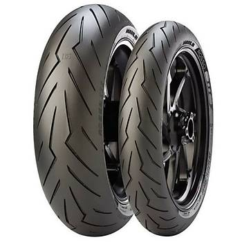 Pirelli Takým 120/70ZR17 160/60ZR17 Diablo Rosso 3 Motosiklet Lastiði