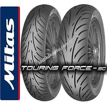 Mitas 140/60-14 Touring Force SC 64P Scooter Arka Lastiði