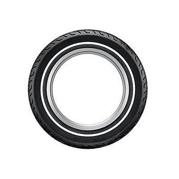 Dunlop 130/80B17 65H TL D408 S.W Ýnce Beyaz Yanaklý Lastik (2014)