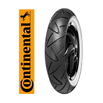 Continental 120/70-12 58P TL RF. Conti Twist WW Beyaz Yanaklı Motosiklet Lastiği