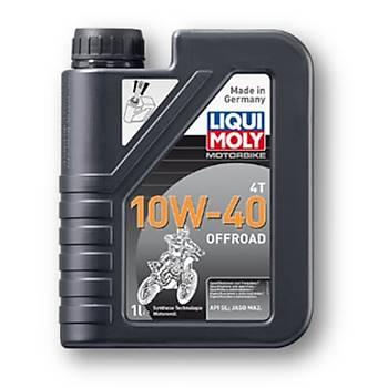 Liqui Moly 10W-40 Off Road 4T Sentetik Off Road ve Enduro Motor Yaðý 1L