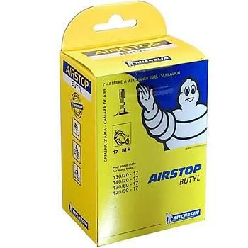 Michelin Airstop 17MH 120/90-17 Ýç Lastik Innner Tube Valve