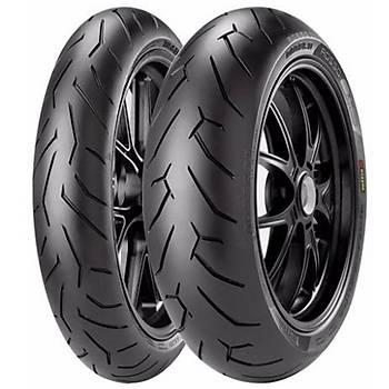 Pirelli Takım 100/80R17 130/70R17 Diablo Rosso II Motosiklet Lastiği