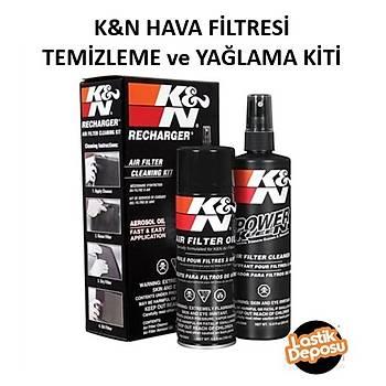 K&N Filtre Bakým Seti Temizleme ve Yaðlama Kiti (12 oz. Filter Clener) 99-5000