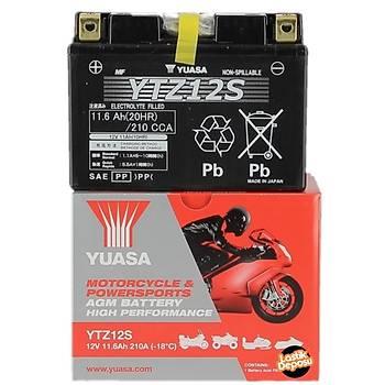 Yamaha XT1200 Z Super Tenere Akü Yuasa YTZ12S 12V11 AH