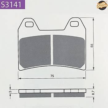 BENELLI TRE 1130 Ön Fren Balatasý Goldfren S3-141