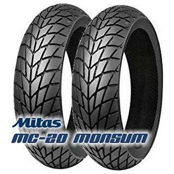 Honda Spacy 4 Mevsim Lastik Mitas MC20 90/90-12 ve 350-10 Ön Arka Set (2019)