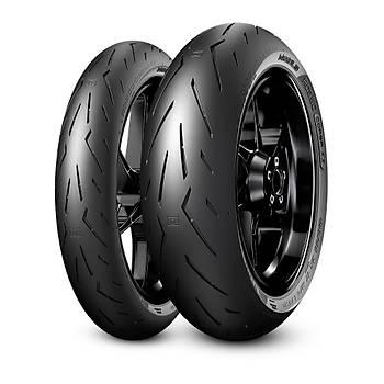 Yamaha MT-07 Tracer (35 KW) Pirelli Diablo Rosso Corsa 2 Takým 120/70ZR17 ve 180/55ZR17 (2021)