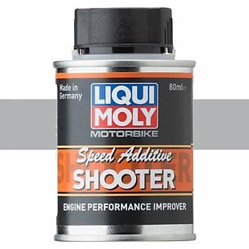 Liqui Moly Motorbike Speed Shooter 2 ve 4T Benzin Katkýsý 80ML