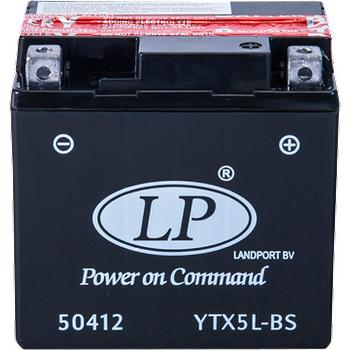 LP YTX5L-BS 12V4AH Bakýmsýz AGM Motosiklet Aküsü