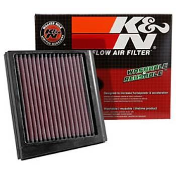 K&N KA-0009 Hava Filtresi KAWASAKI KLR600- 88-93