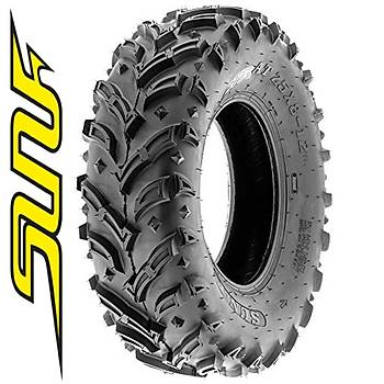 SunF 25x8-12 A024 Mud Trail  6PR Atv-Utv Ön Lastik