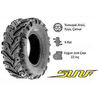 SunF 25x10-12 A024 Mud Trail 6PR Atv-Utv Arka Lastik