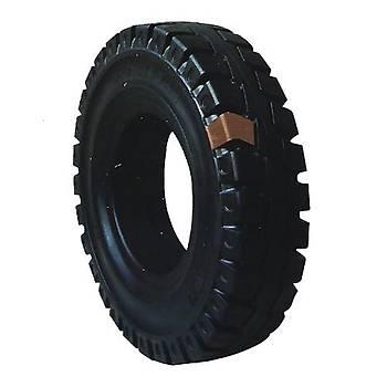Solimax 27x10-12 Siyah Dolgu Forklift Lastiði Standart Segmanlý