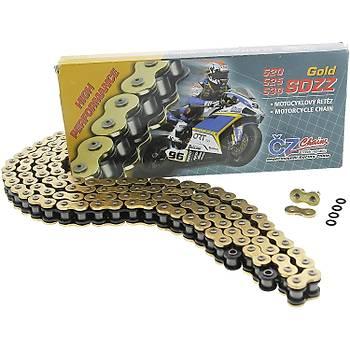 CZ 530 SDZZ-118L Gold X-Ring Motosiklet Zinciri 118 Bakla