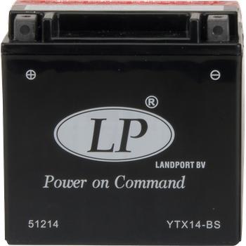 LP YTX14-BS 12V12AH AGM Motosiklet Aküsü