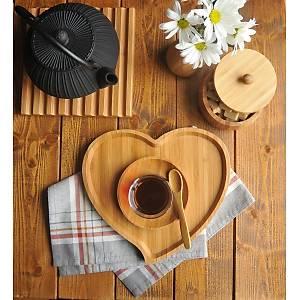 Bambum Amor Kalp Tepsi Küçük