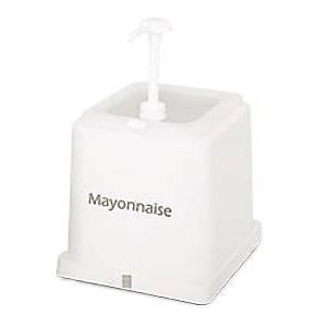 Basmalý Mayonez Dispenseri