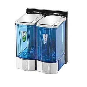 Palex Mini Sývý Sabun Dispenseri 250 Cc*2 Krom Þeffaf