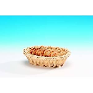 Küçük Oval Plastik Sepet (Açýk )