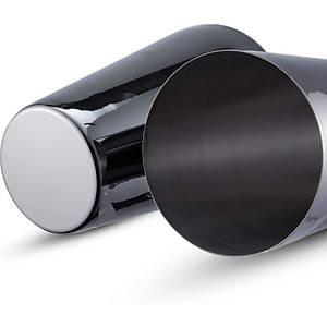 Biradlý Çelik Boston Shaker Siyah