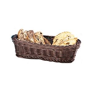 Küçük Ovalplastik Ekmek Sepeti(Açýk-Koyu)