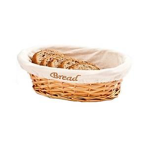 Hasýr Ekmek Sepeti Oval Bezli