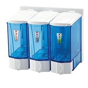 Palex 3'Lü Mini Sývý Sabun Dispenserleri 250 Cc Þeffaf