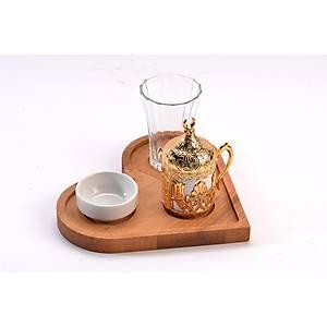 Çay Kahve Tepsisi 19*21 Cm