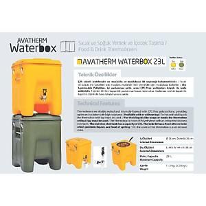 Avatherm Waterbox 23 Lt Musluklu