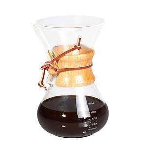 Biradlý Cam Kahve Demleme 600 Ml