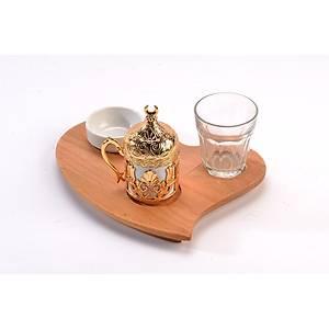 Çay Kahve Tepsisi 17*21 Cm
